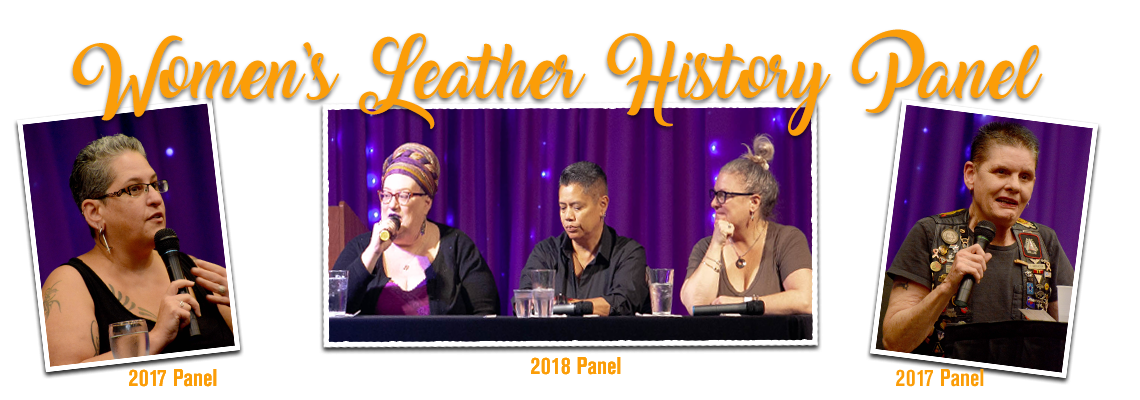 Women's Leather History Panel